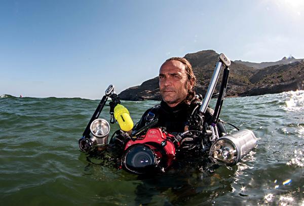 El fotógrafo Javier Murcia Requena, primer jurado del 2º Open Fotosub Online Isla de El Hierro