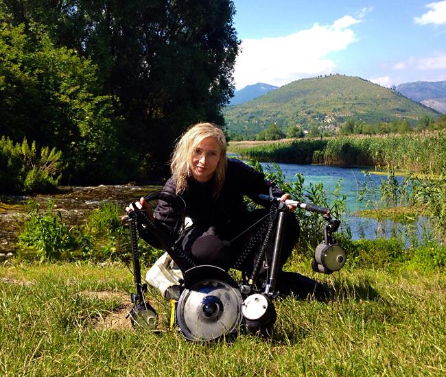 Silvia Boccato, nuestra jurado internacional en este 3er Open Fotosub Online Isla de El Hierro