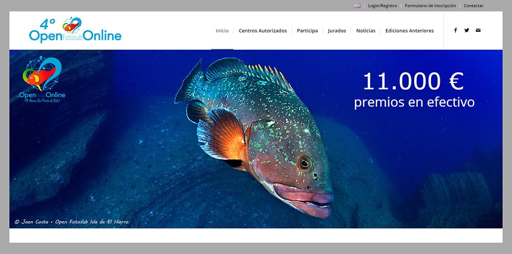 El Open Fotosub Online estará en la Feria MAS