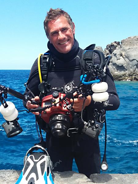 """El fotógrafo submarino Sergio Hanquet confirmado como jurado profesional del 4º Open Fotosub Online """"El Hierro, Un Puerto de Vida"""""""